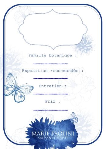 """Étiquette """"botanique""""."""